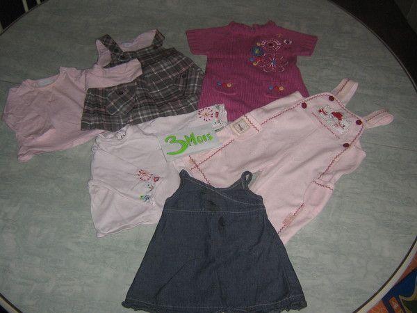 5c1db522cf68d Lot vêtements bébé fille en 3 mois